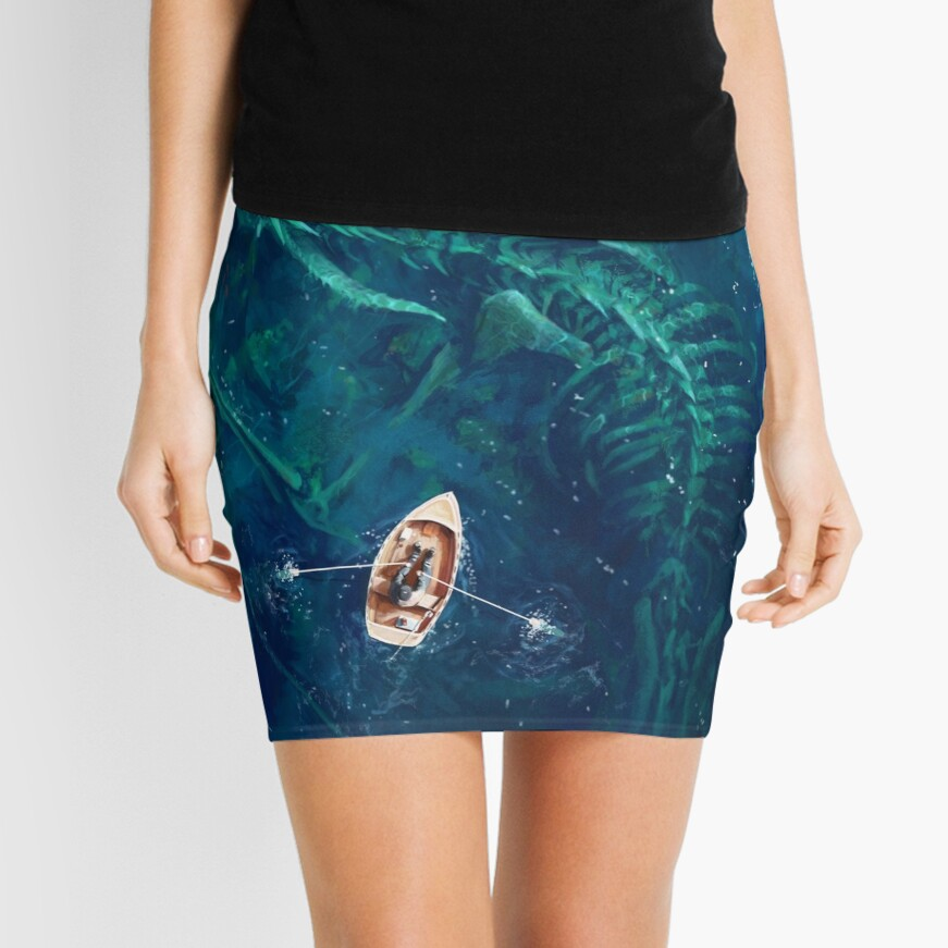 Dragon bones Mini Skirt