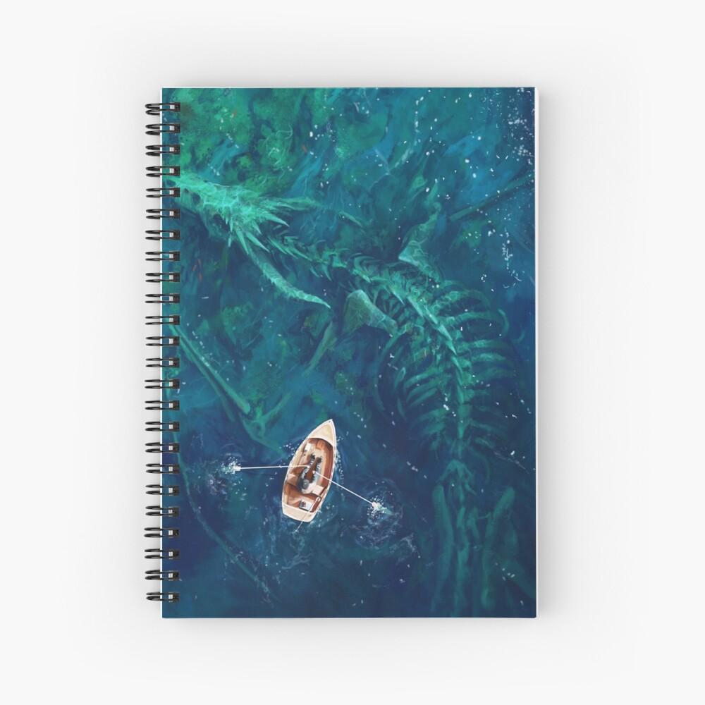 Dragon bones Spiral Notebook