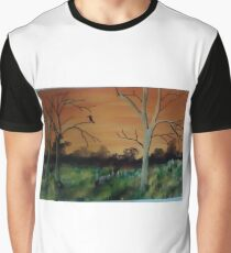 sunset in the outback Graphic T-Shirt