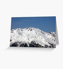 Beautiful Mountain Greeting Card