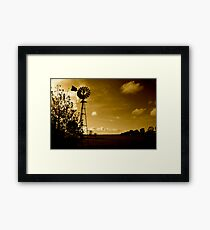 Wind of the mills Framed Print