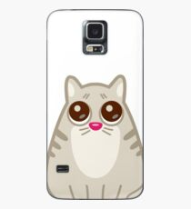 Funny Sad Cat Tshirt and Stickers - Cat Gifts for Cat lovers everywhere! Case/Skin for Samsung Galaxy