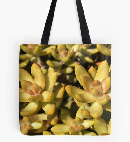 Greens Of A Succulent Tote Bag
