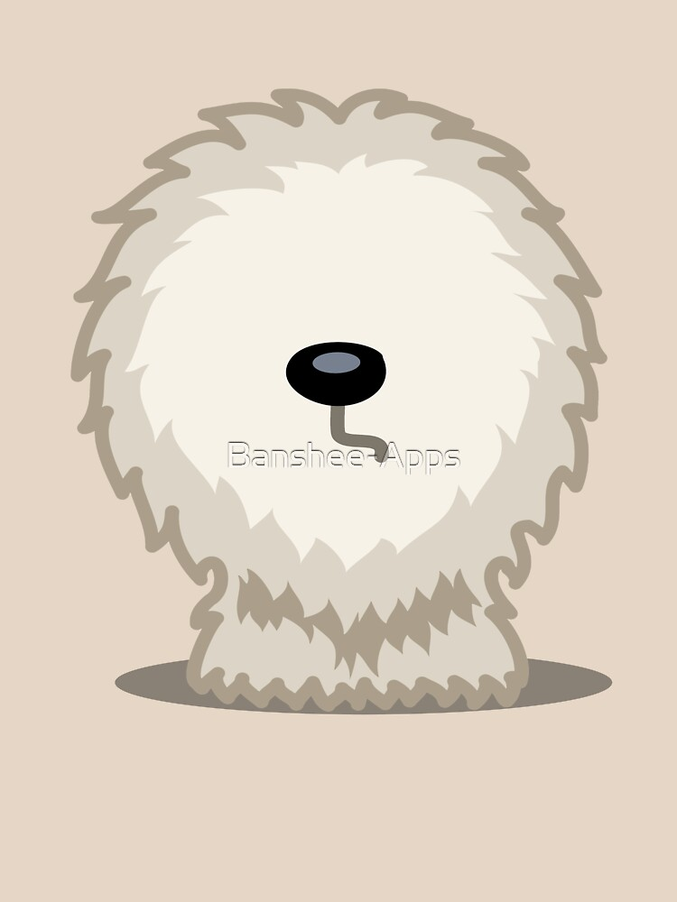 Old English Sheepdog tshirt - Dog Gifts for Sheepdog and Sheep Dog Lovers by Banshee-Apps