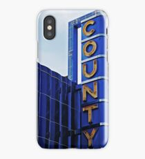 County Theater of Doylestown iPhone Case