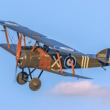 "Sopwith F.1 Camel reproduction D1851 G-BZSC ""Ikanopit"" by oscar533"