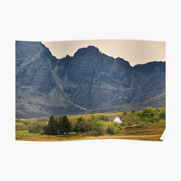 The Cuillins Poster