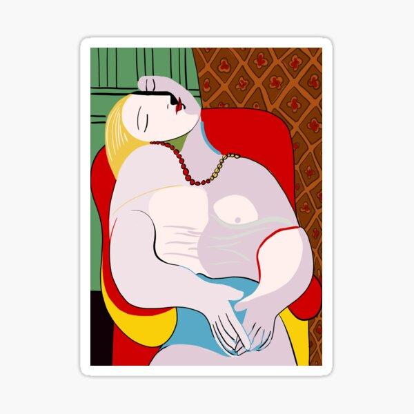 Picasso's Dream Sticker