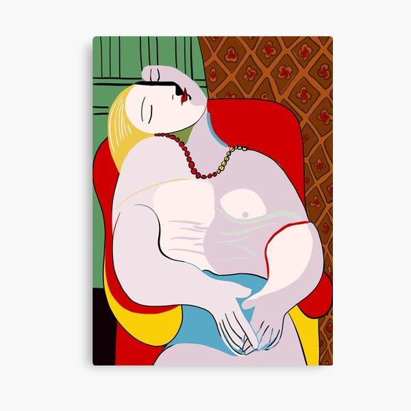 Picasso's Dream Canvas Print
