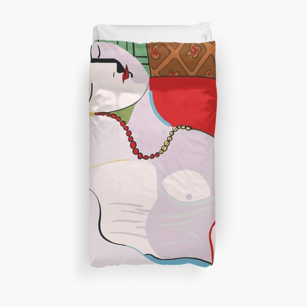 Picasso's Dream Duvet Cover
