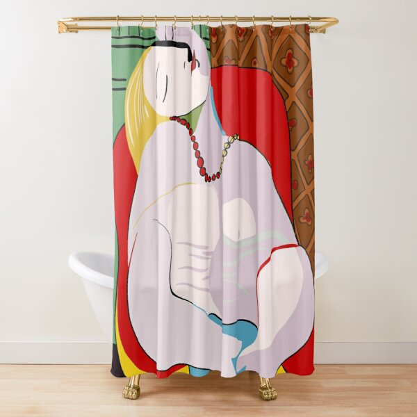 Picasso's Dream Shower Curtain
