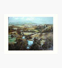 Barrabool Hills Art Print