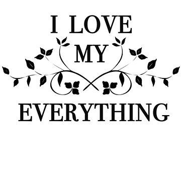 I Love My Everything - Park Jimin BTS by CactusPop
