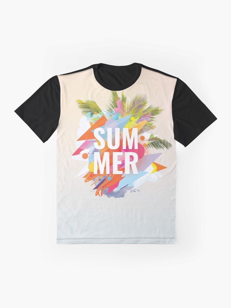 Alternate view of Summer Graphic T-Shirt