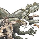 Dino Puncher by SnakeArtist