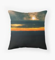armidale sunset Throw Pillow