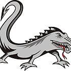 Lizard Tattoo by sifis