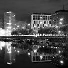 Liverpool one Mono by Kimberley Davitt