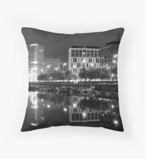 Liverpool one Mono Throw Pillow