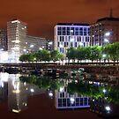 Liverpool one at night by Kimberley Davitt