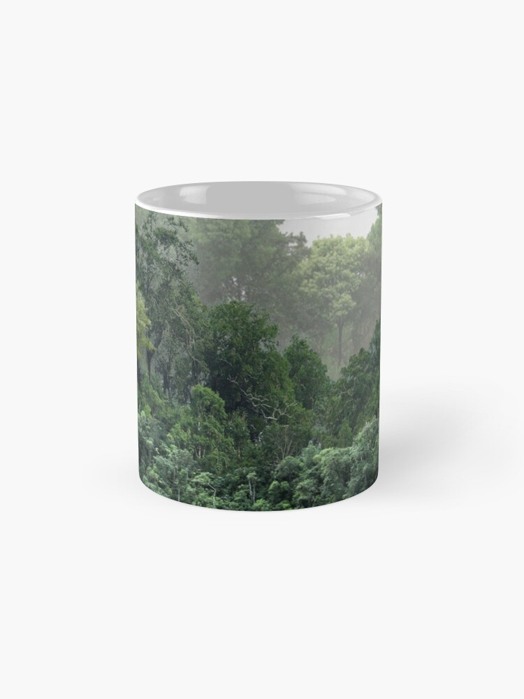 Alternate view of Tropical Foggy Forest Mug