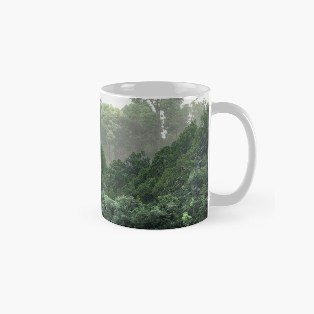 Tropical Foggy Forest Mug