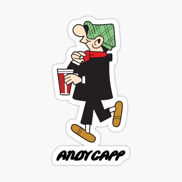 adesivo CARTOON ANDY CAPP  sticker aufkleber pegatina