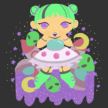 Chubby Princess in Space! by gunkers