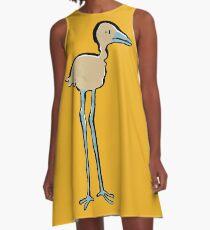 long legged bird A-Line Dress