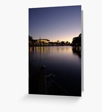 Dusk Convention Greeting Card