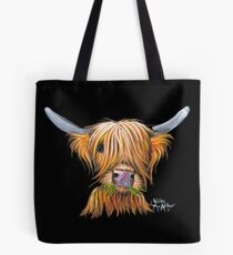 HIGHLAND COW PRiNT ' LITTLE VIKING ' By Shirley MacArthur Tote Bag