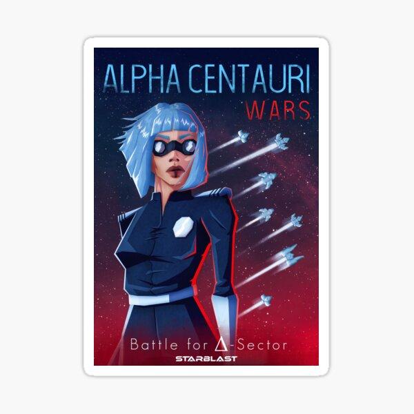 Alpha Centauri Wars - Lucina AFAC Sticker