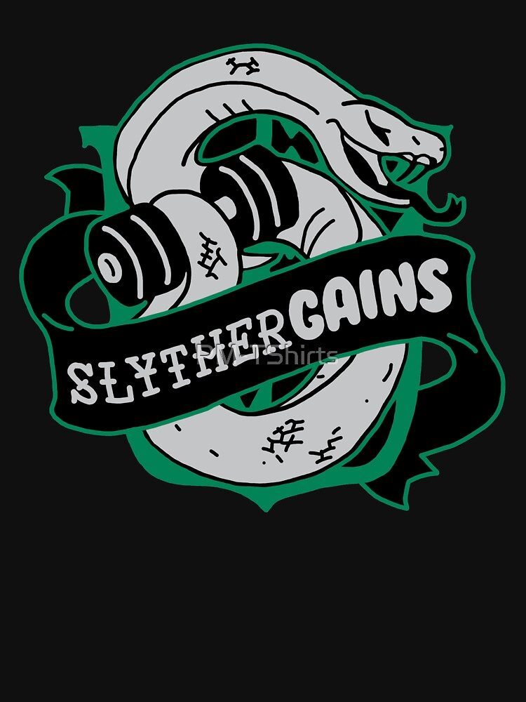 Slythergains Hogweights Swolecraft Liftery by PM-TShirts