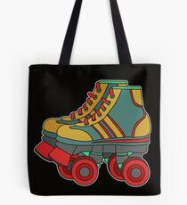 Classic & Cool Tshirt Design Roller Blades Tote Bag