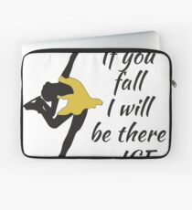 Beutiful and Charming Tshirt Design Ice Skater Laptop Sleeve