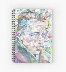 Cuaderno de espiral ALBERT CAMUS - Acuarela portrait.3