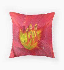 Award Winning Day Lily Throw Pillow