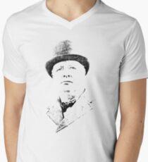 Winston Churchill Men's V-Neck T-Shirt