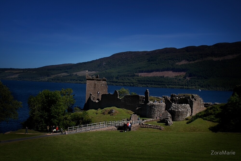 Ruins at Loch Ness by ZoraMarie