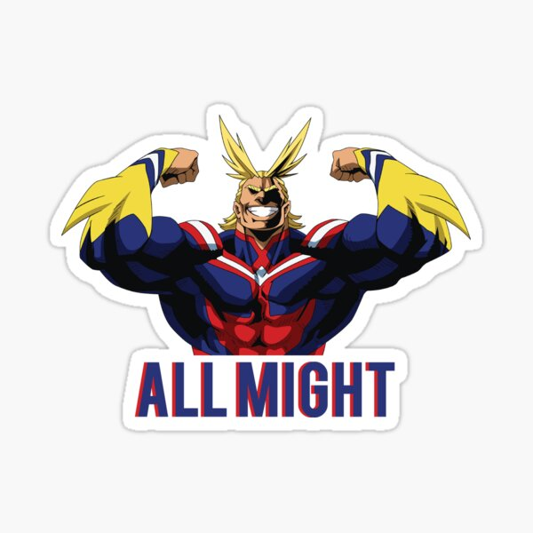 All Might Sticker