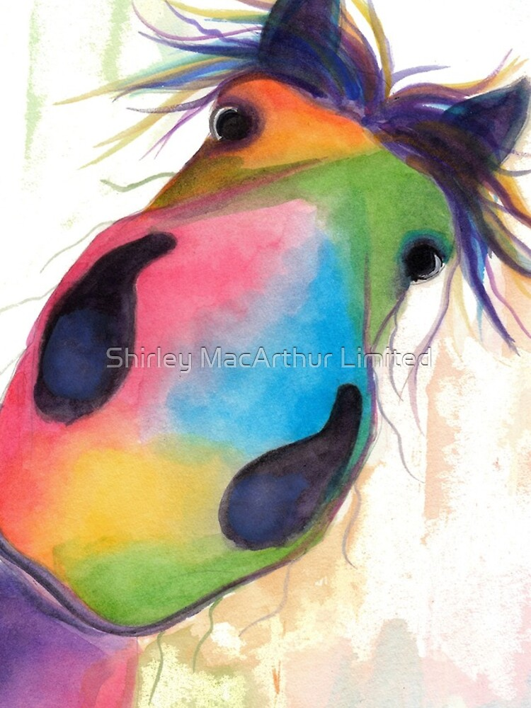 HORSE PRiNT 'MORELLO' BY SHiRLeY MacARTHuR by ShirleyMacA