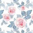 Delicate roses 4 by Gribanessa