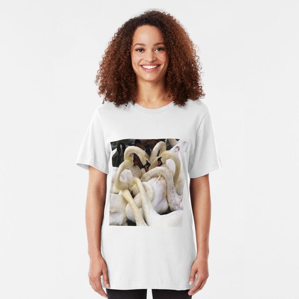 Swans Necks Slim Fit T-Shirt