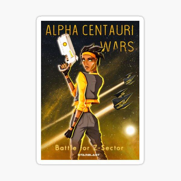 Alpha Centauri Wars - Bataille pour le secteur Z Sticker