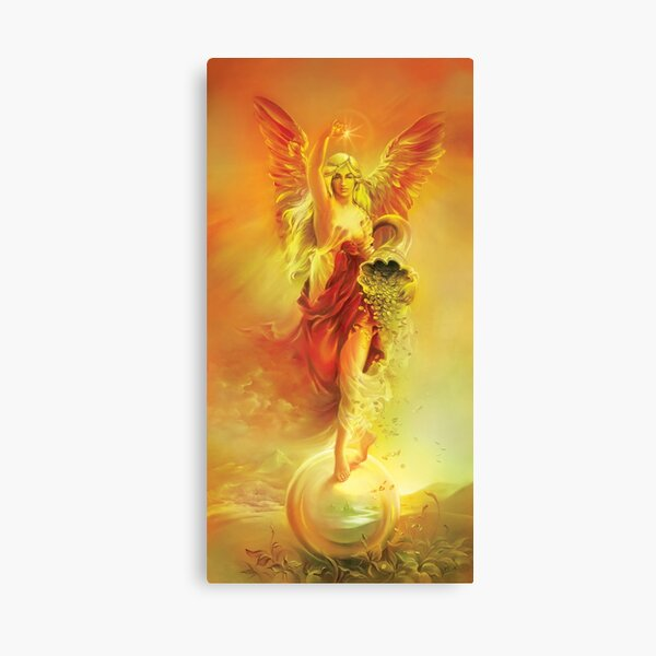 ANGEL OF ABUNDANCE (FORTUNA) Canvas Print