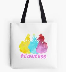 Flawless Inspired Silhouette Tote Bag