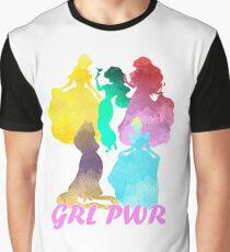 Girl Power Inspired Silhouette Graphic T-Shirt