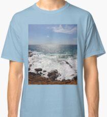 Sea and Sardinia - rocks and waves Classic T-Shirt