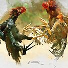 Fighting Cocks v1 by Mark Salmon