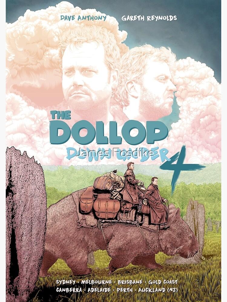 DOLLOP - Down Under 4 Tour Poster by MrFoz